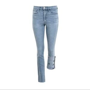 NWT 3X1 DIY Willow Light Wash Straight Leg Jeans